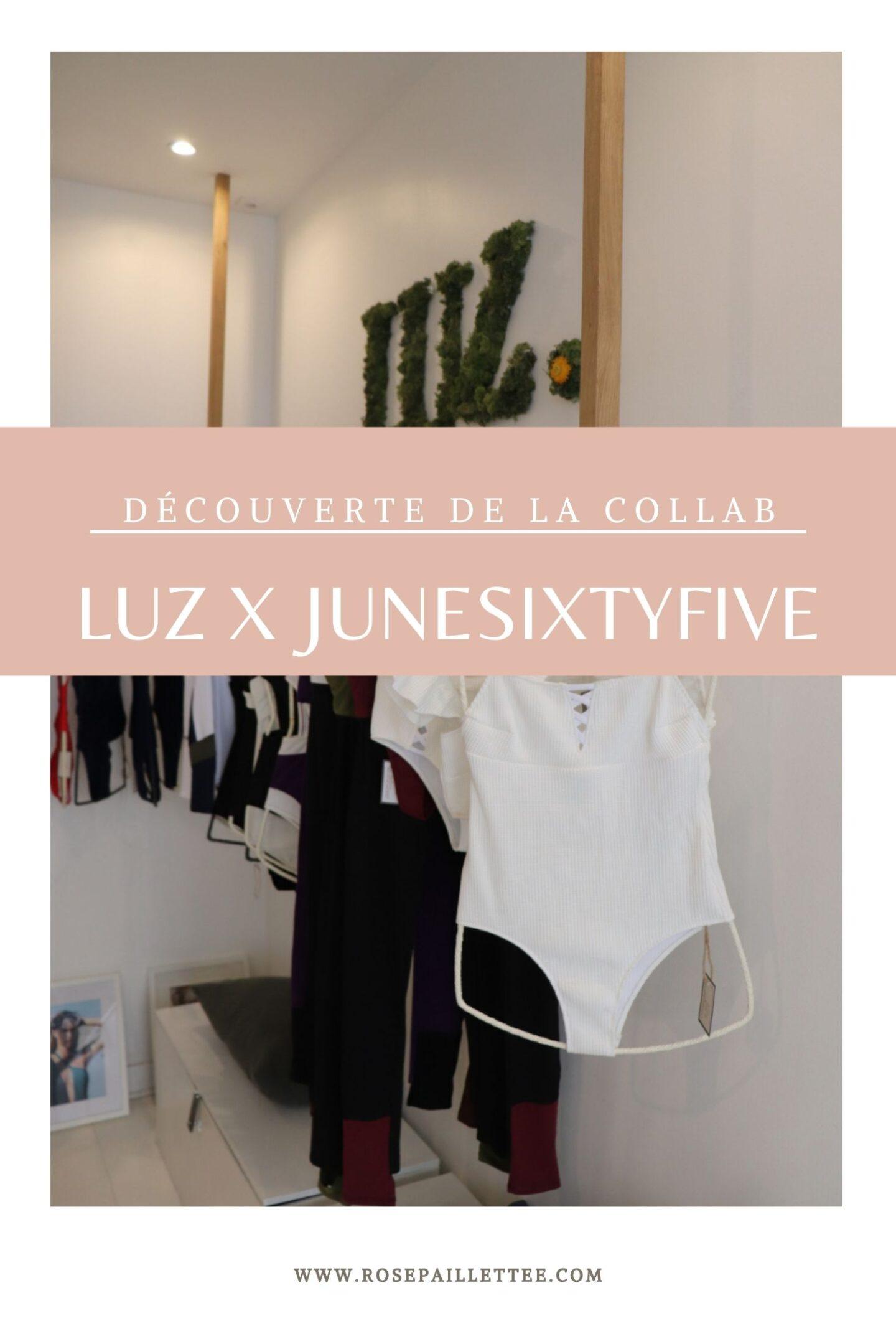 Découverte de la collaboration entre Luz et Junesixtyfive