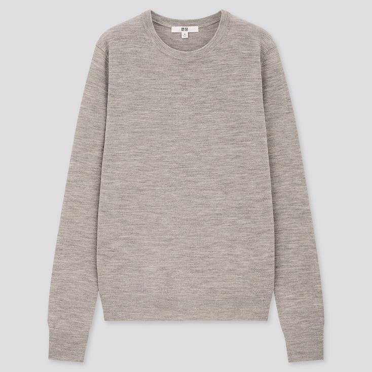 petit pull léger gris