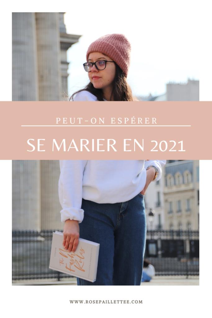 Peut on espérer se marier en 2021 ?