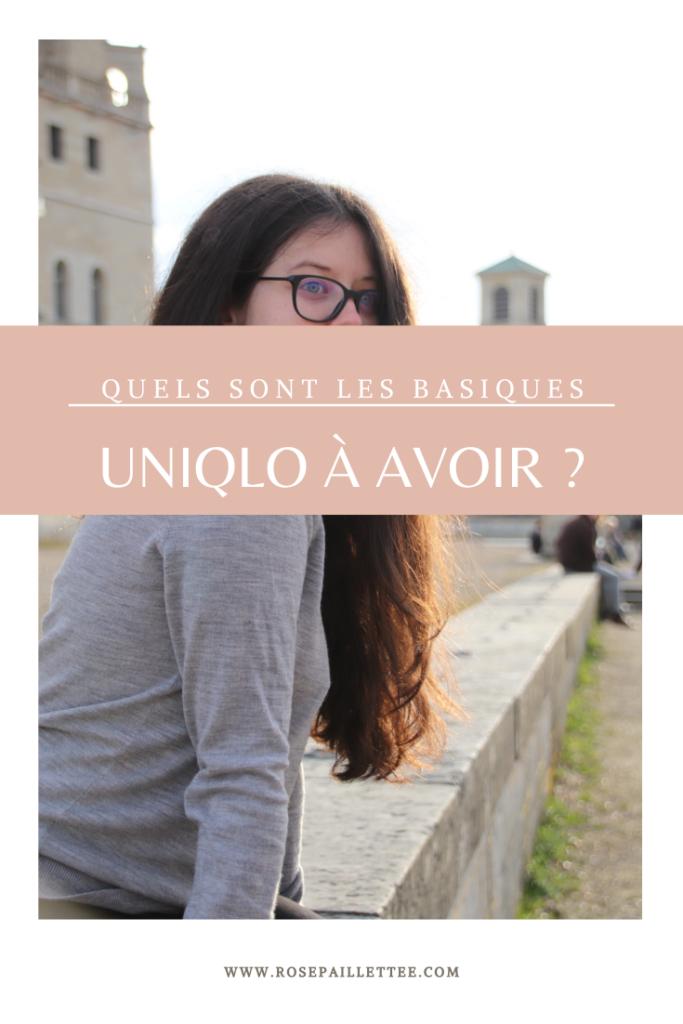 Quels sont les basiques Uniqlo à avoir ?
