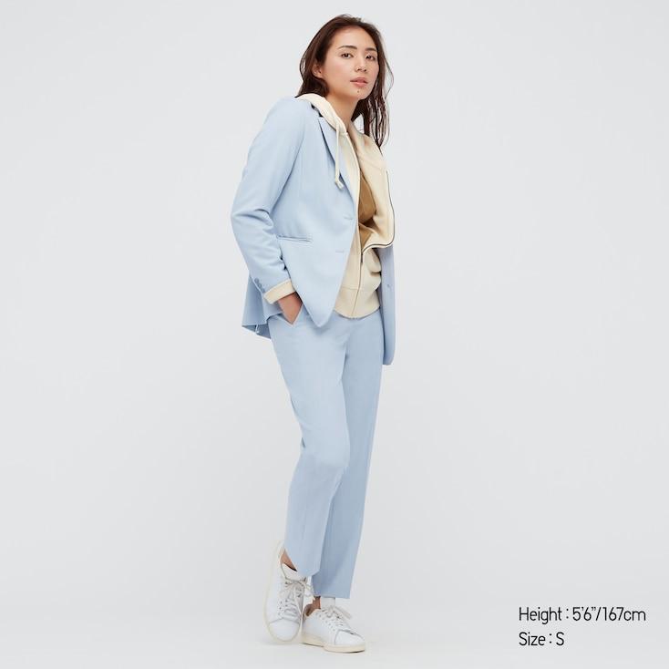 pantalon 7/8ème bleu ciel