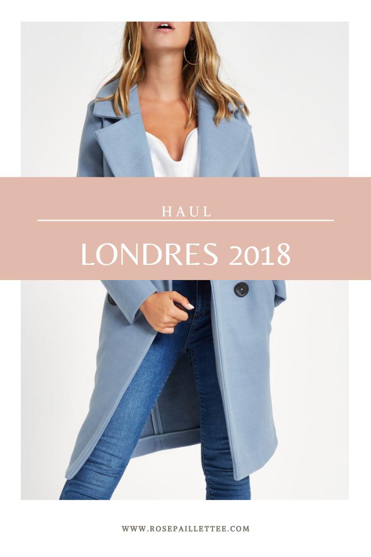 Haul Londres 2018