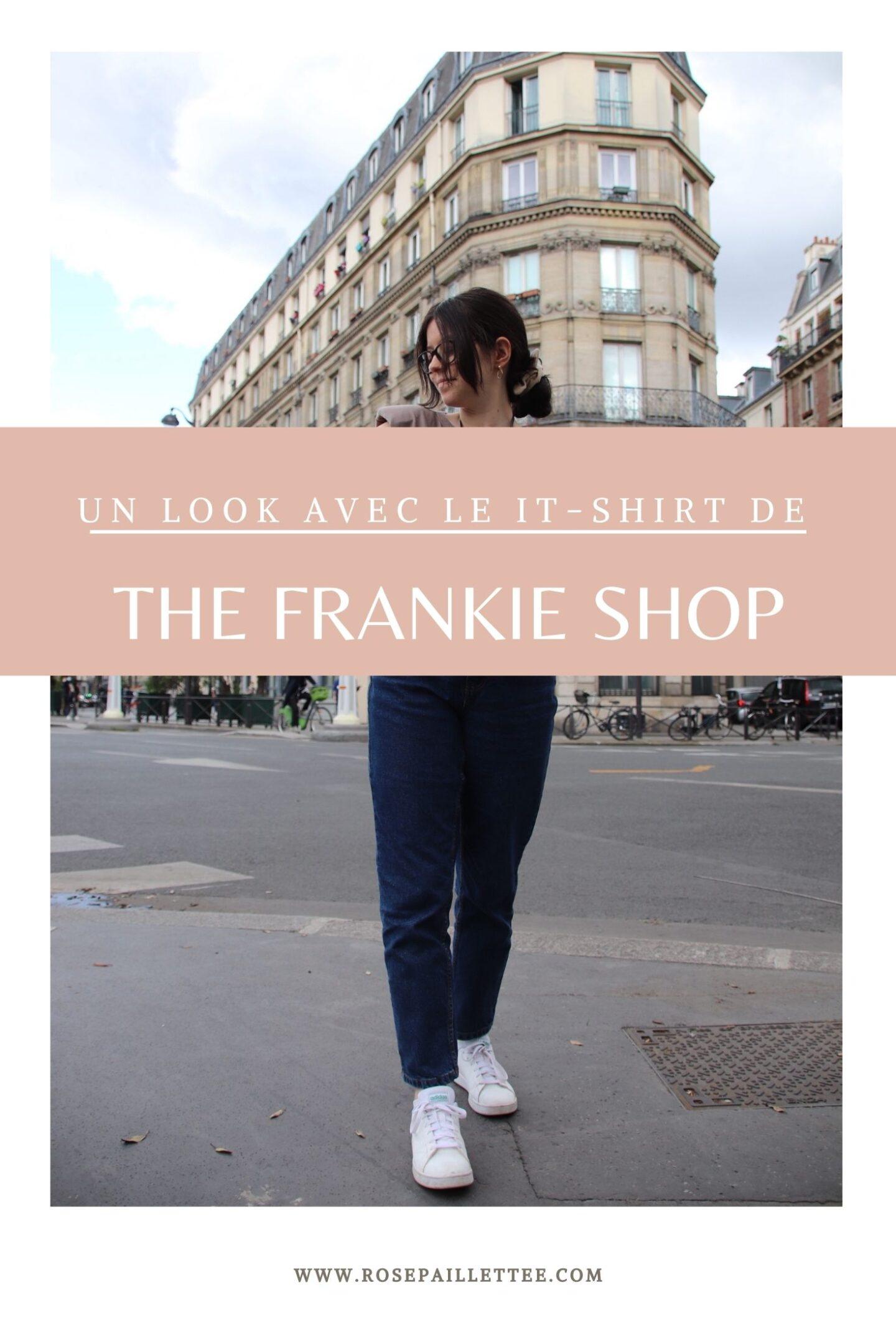 Un look avec le it- t-shirt de the Frankie shop