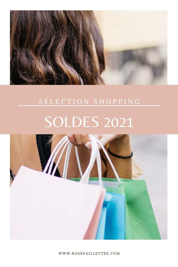 Sélection shopping spécial soldes 2021
