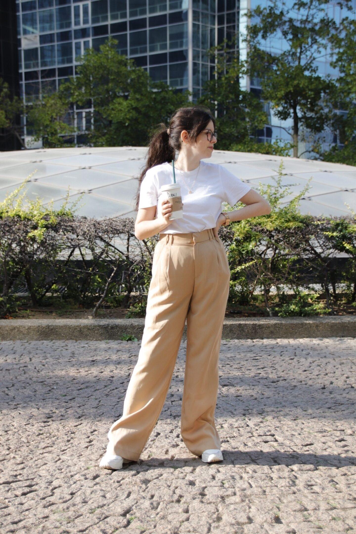 4 looks spéciale rentrée - look pantalon ample